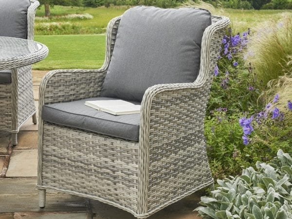 Wroxham 4 Seat Outdoor Dining Set - Chair