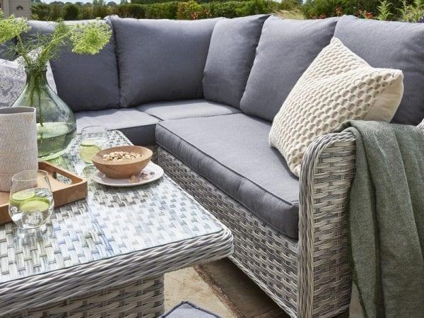 Wroxham Mini Corner Sofa Set - Close Up