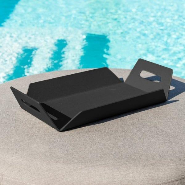 Aluminium Tray - Black