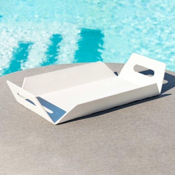 Aluminium Tray - White