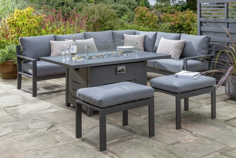 Handpicked - Titchwell Corner Sofa With Firepit Table