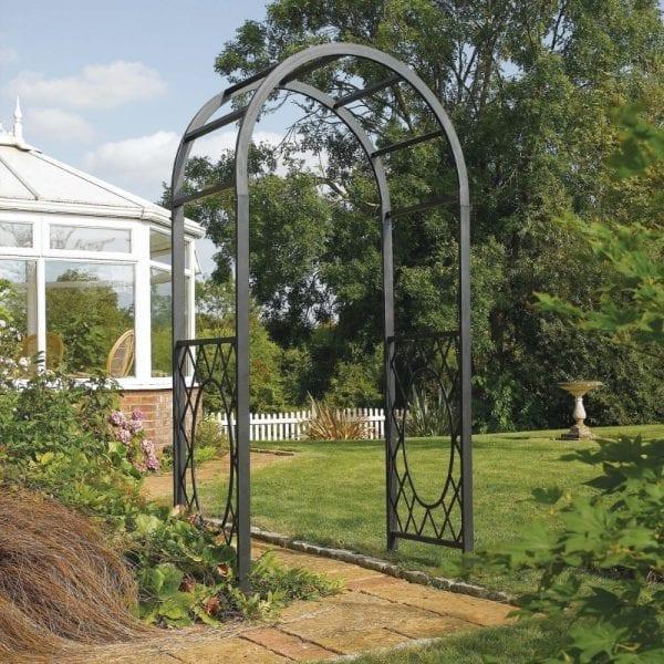 Wrenbury Round Top Garden Arch
