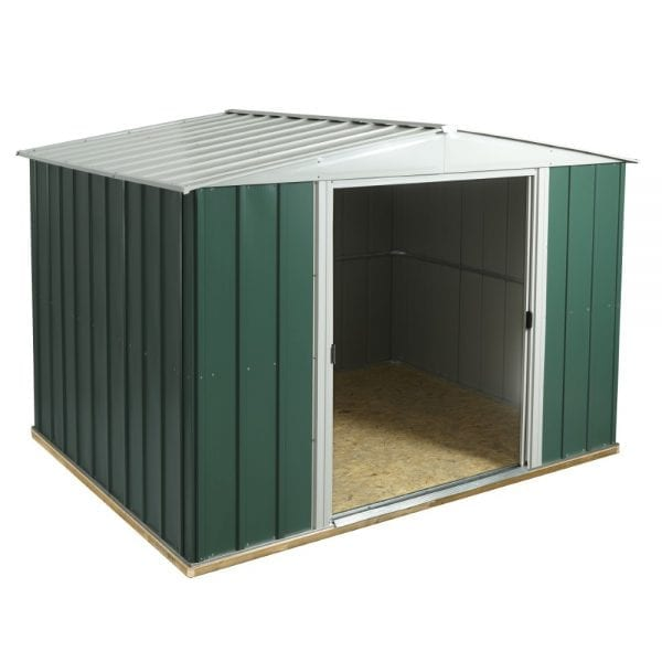 10x8 Greenvale Metal Apex Shed With Floor 5013856993315
