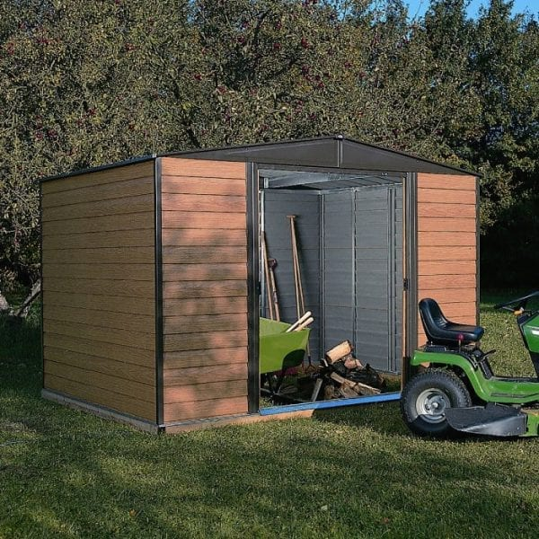 10'x6' Woodvale Metal Apex Shed