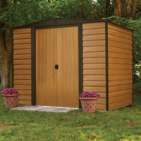 8x6 Woodvale Metal Apex Shed 5013856015215