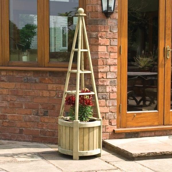 Marberry Obelisk Planter 5013856996088