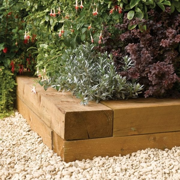 Timber Sleepers 1.8m (2 Qty)