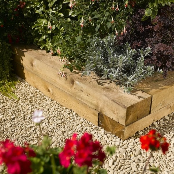Timber Sleepers 0.9m (2 Qty)