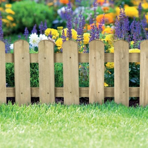 Picket Border Fence