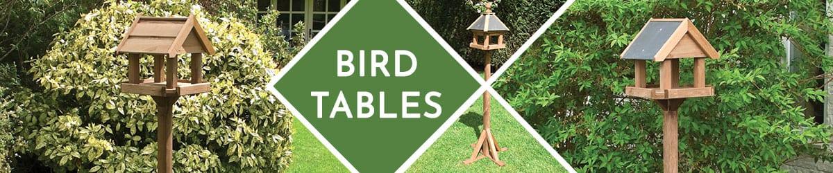 Bird Tables | Wooden Bird Table Range