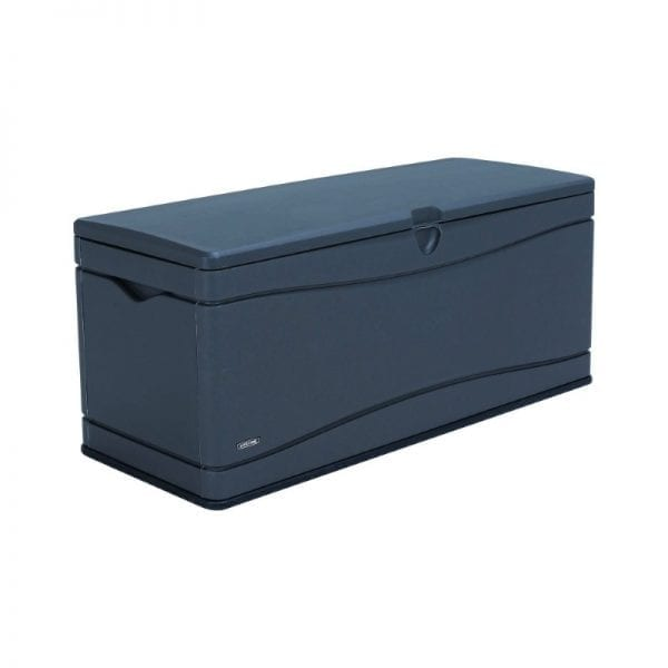Lifetime 500L Outdoor Storage Box - Dark Grey - Product Image