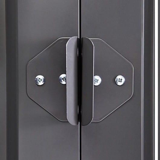 Lotus Shed Anthracite Grey - Door Handles