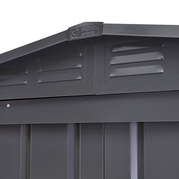 Lotus Shed Anthracite Grey - Vents