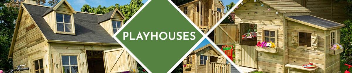 Playhouse | Wooden Garden Playhouses
