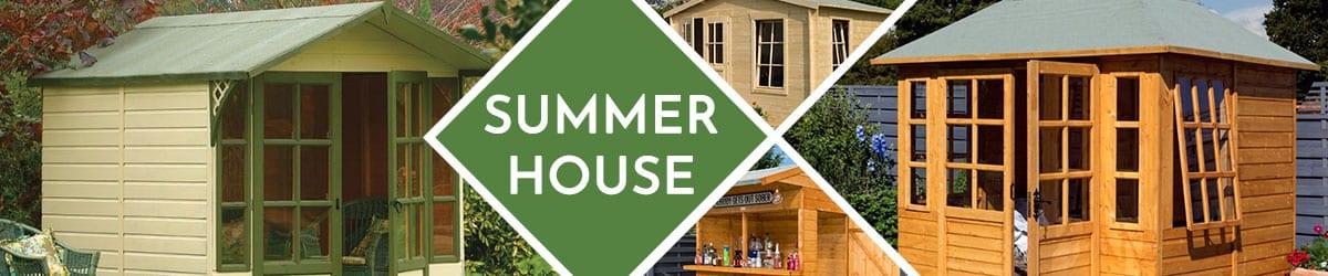 Summer House | Summerhouse Range From The Garden Range