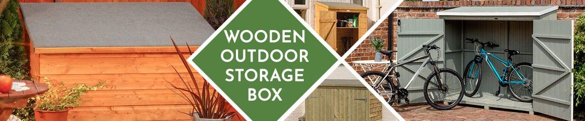 Wooden Storage Box   Wooden Outdoor Storage Boxes