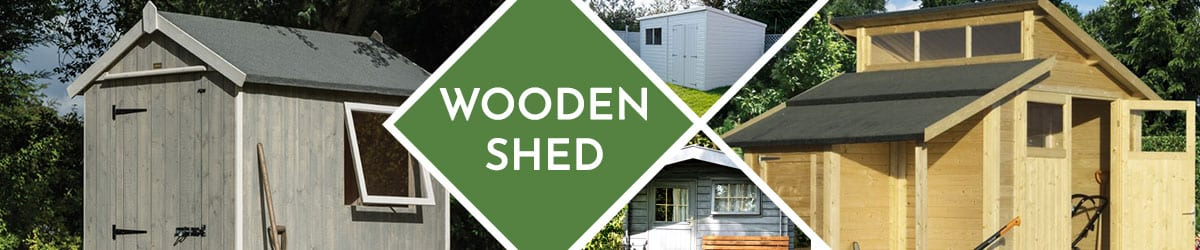 Wooden Sheds | Browse Our Timber & Wooden Shed Range