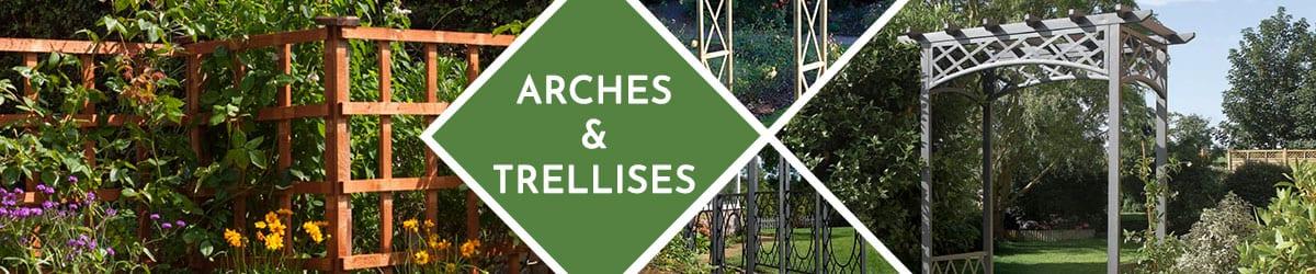 Garden Arches | Garden Trellis | Wooden Archway