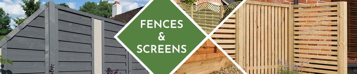 Garden Fence Panels | Garden Screening | Fencing Panels