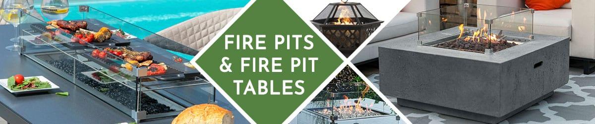 Garden Fire Pit Table | Firepit Range