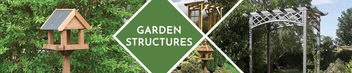 Garden Structures | Archway | Trellis | Bird Table
