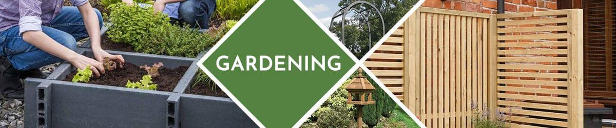 Gardening Range   Planters, Fences, Archways & More