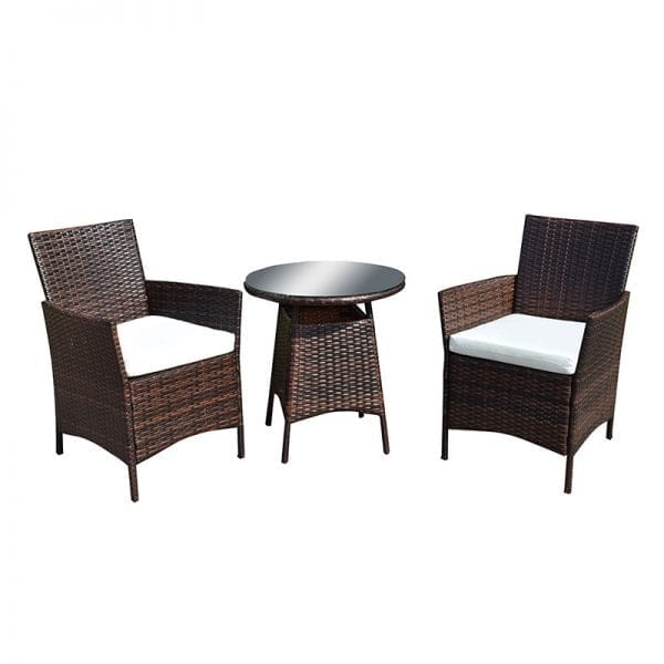 Two Seat Bistro Rattan DiningSet - Product Image