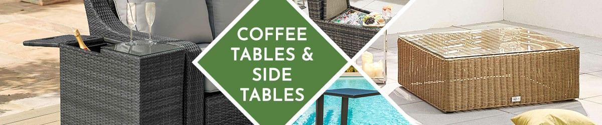 Garden Coffee Table | Garden Side Table | Rattan Coffee Table