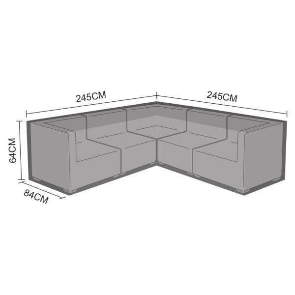Corner Sofa Set Cover - Chelsea