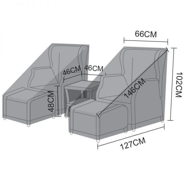 Lounge Set Cover - Skylar