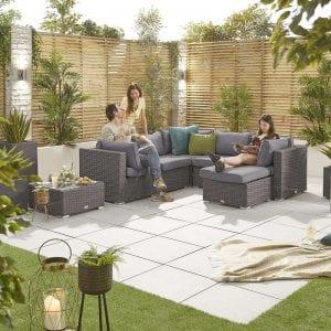 Heritage Chelsea Corner Sofa Set - Slate Grey