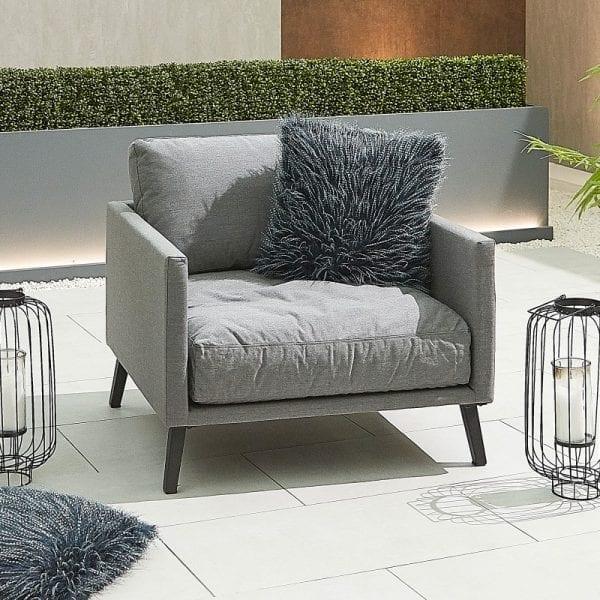 Bliss Lounge Chair - Light Grey