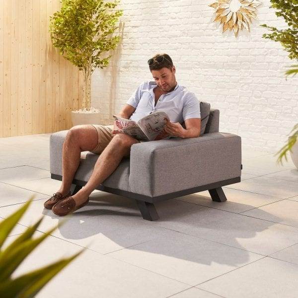 Tranquility Lounge Chair - Light Grey