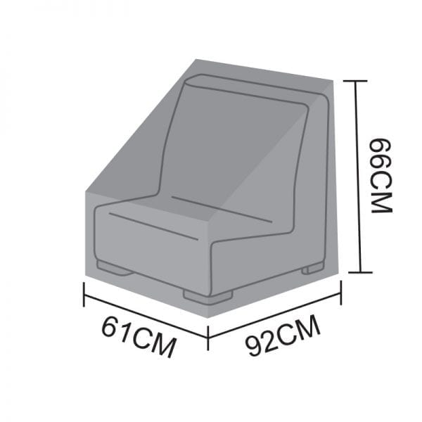 Sofa Piece Cover for Luxor - Middle