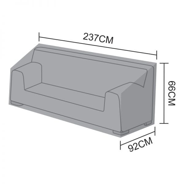 Sofa Cover for Luxor - 3 Seater