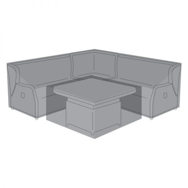 Corner Dining Set Cover for Skylar Deluxe w/ Rising Table
