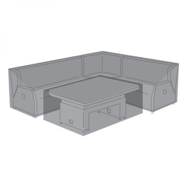 Corner Dining Set Cover for Skylar w/ Rising Table