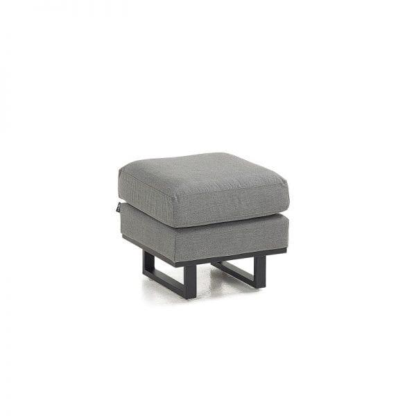 Eclipse Single Footstool - Light Grey