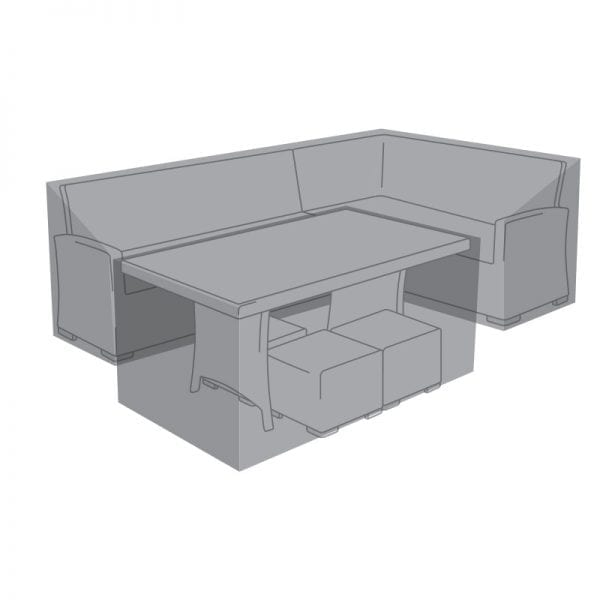 Cover for Right Hand Corner Dining Set