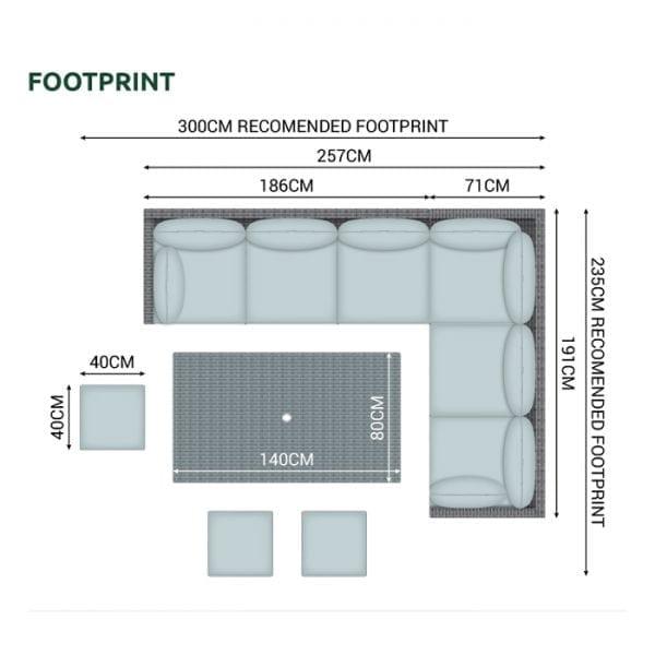 N21051 - Footprint