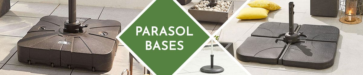 Parasol Bases   Cantilever Bases   Canopy Bases