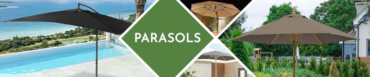 Garden Parasols | Find A Parasol To Suit Your Garden Furniture