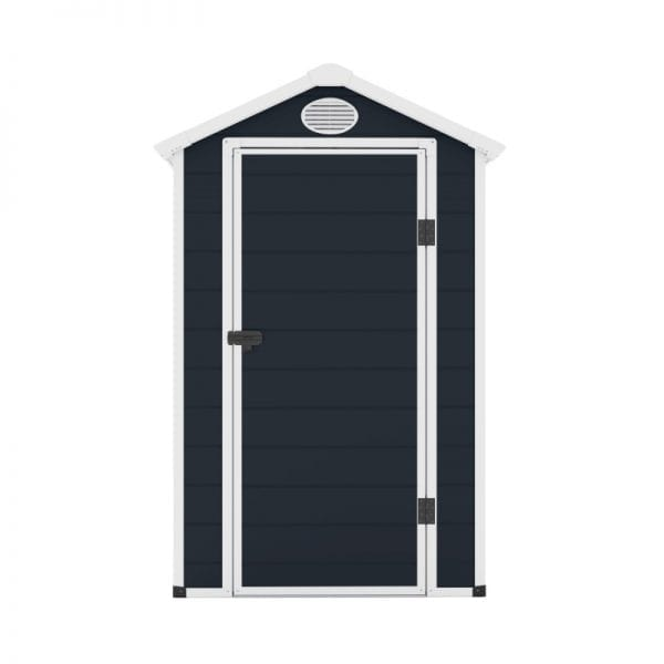 Jasmine 4'x6' Plastic Shed - Front