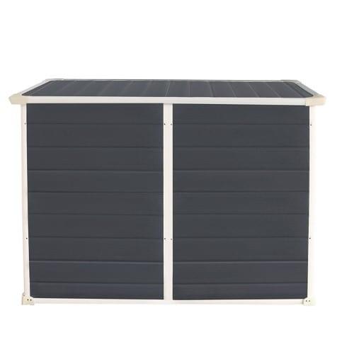 Jasmine 6'x3' Storage Unit - Back