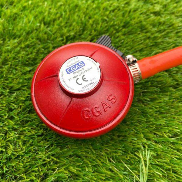 Patio Heater Gas Regulator - Close Up