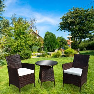 Two Seater Bistro Set - In Situ