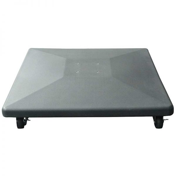 Royce 90kg Plastic Covered Concrete Base with Wheels