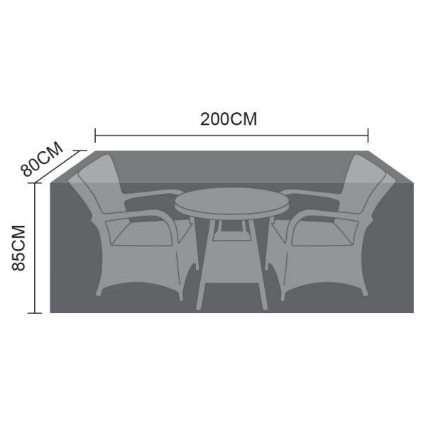 Bistro Set Cover - 2 Seat Round