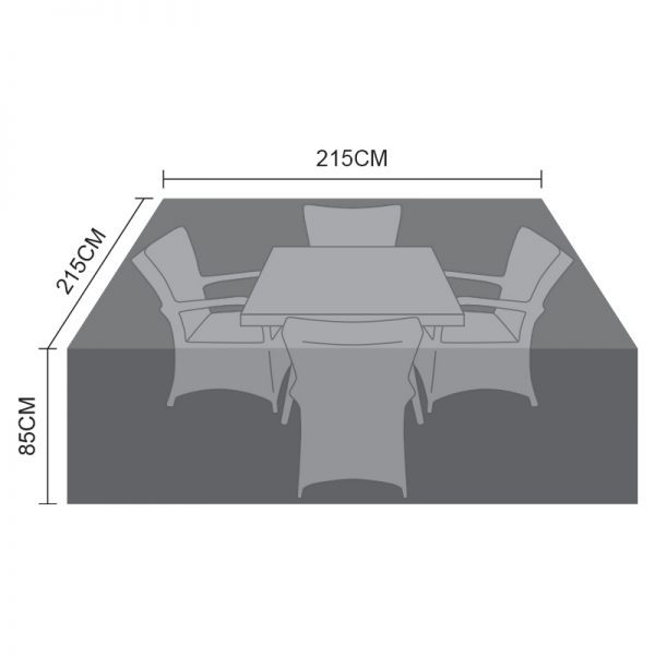4 Seat Square Dining Cover