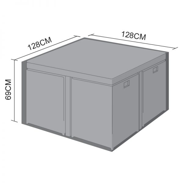 Cube Set Cover - 4 Seat Square